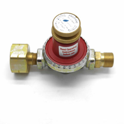 Irish Market 8kgh 0.5 to 4bar Propane Gas Regulator  21.8 LH to 3/8 LH Male ROI