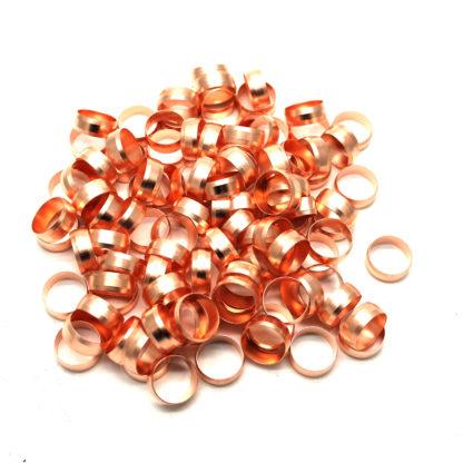 100 X 15Mm Copper Compression Olives