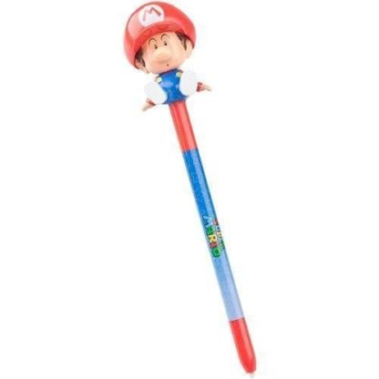 Mario Bobblehead Stylus For 3Ds/ Ds Lite/ Dsi/ Dsi Xl Powera Nintendo Licenced