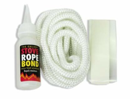 2.5M Of 6Mm Rope Stove Door Seal With Adhesive