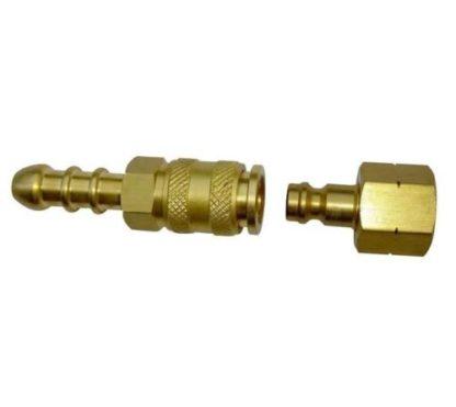 Cadac / Weber Compatible Brass Quick Release Coupling & Tailpiece