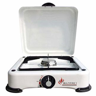 Multifire 1 Single Burner Camping Cooker For Butane Or Propane