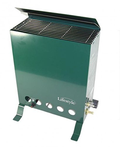 2Kw Thermostatically Controlled Propane Greenhouse Heater Inc Hose & Regulator