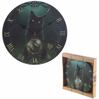 Lisa Parker Rise Of The Witches Cat Wall Clock (Ckp124)
