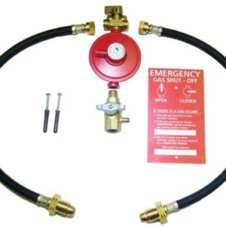 2 Cylinder Manual Changeover Kit For Propane Lpg Cylinders