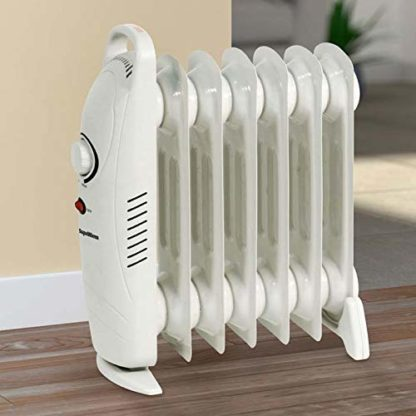 Supawarm Mini Oil Filled Radiator With Thermostatic Control 800W