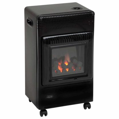 Lifestyle Living Flame Portable Mobile Gas Heater
