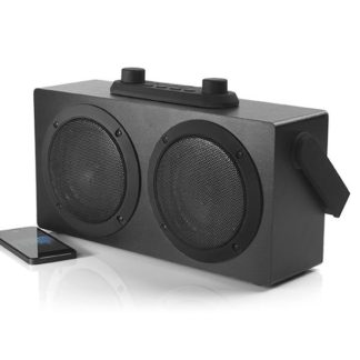 Portable Retro Sound Blaster Rechargeable 10W Bluetooth Speaker