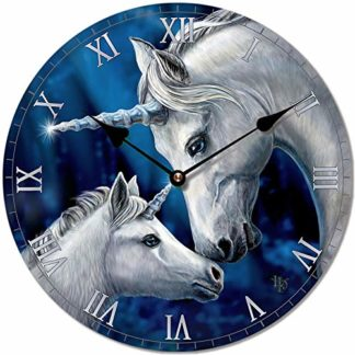 Lisa Parker Sacred Love Unicorn Wall Clock (Ckp113)