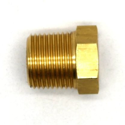 British Made 3/8 X 1/4 Brass Reducing Bush Bspt X Bsp (40)