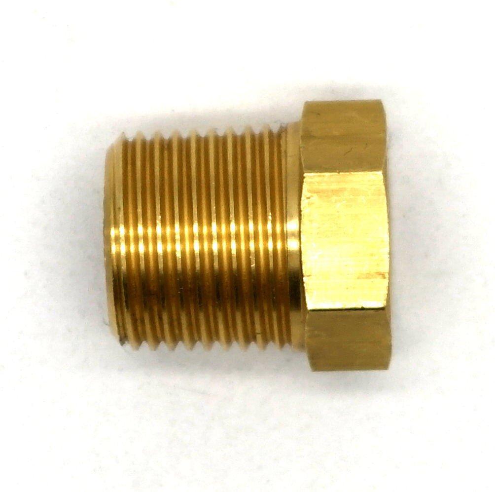 British Made 3//8 x 1//8 Brass Reducing Bush BSPT X BSP