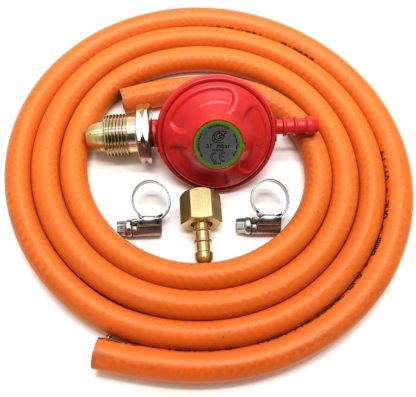 Igt 37Mbar Propane Gas Regulator Replacement Hose Kit For Uk Outback Models
