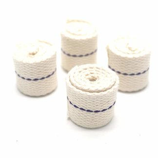 "4 X Aladdin 30Cm 1"" (2.5Cm) Wicks For Paraffin Greenhouse Heaters 1 Inch Wick"