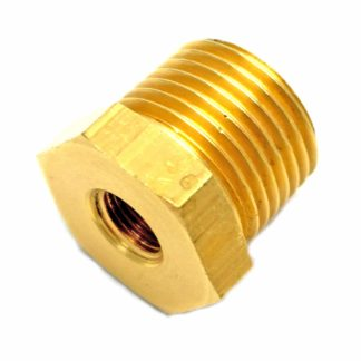 British Made 1/2 X 1/8 Brass Reducing Bush Bspt X Bsp (38)