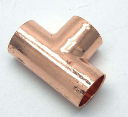 22Mm End Feed Copper 3 Way T 10 Pack D Box 103
