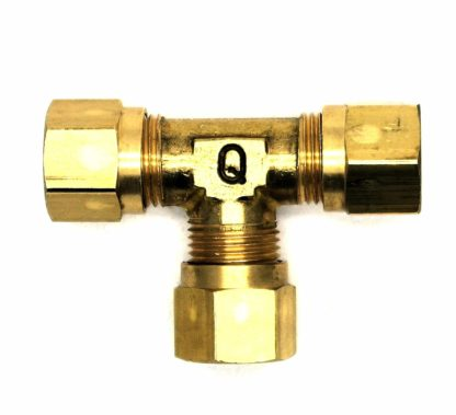 British Made 8Mm Equal T Brass Compression Fitting  (29)