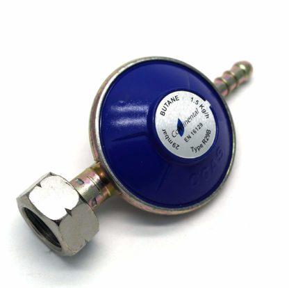4.5Kg Butane Gas Regulator With 2M Hose + 2 Clips Fits Calor Gas 4.5Kg Cylinders