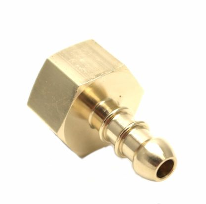 "British Made 1/2"" Bsp Female Fitting To Lpg Fulham Nozzle To 8Mm I/D Hose (28)"