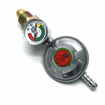 Igt Propane Gas Regulator & Gauge Conversion Kit For Most Weber Q & Lp Models