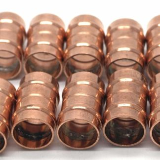 15Mm Solder Ring Copper Equal Straight Coupling 10 pack (54)