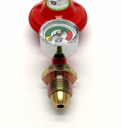 Igt 37Mbar Propane Gas Regulator With Pressure Gauge Fits Calor Gas & Flogas