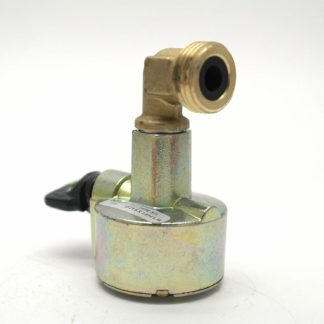 27Mm Patio Gas Adaptor For Butane Pigtail On A Caravan Or Motorhome Regulator