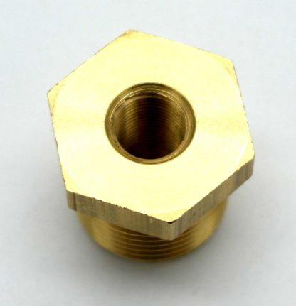 British Made 1/2 X 1/8 Brass Reducing Bush Bspt X Bsp (38)
