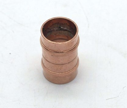 22Mm Solder Ring Copper Equal Straight Coupling 10 Pack D Box 102
