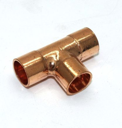 10Mm End Feed Copper 3 Way Equal T 10 Pack (76)