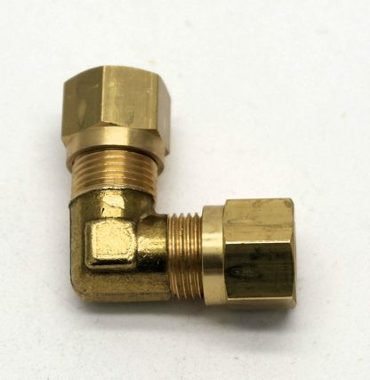 British Made 90 Degree 8Mm To 8Mm Bend Brass Compression Fitting  (31)
