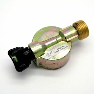 21Mm Butane Adaptor For 30Mbar Caravan Motorhome Regulator