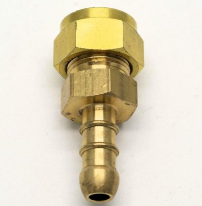 "British Made 3/8"" Compression Fitting To Lpg Fulham Nozzle To 8Mm I/D Hose (26)"