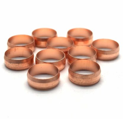 10 X 15Mm Copper Compression Olives (68)