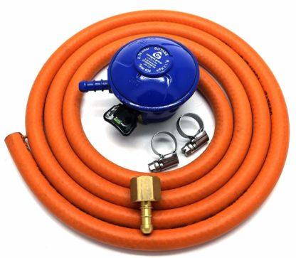 Cavagna 21Mm Butane Gas Regulator Replacement Hose Kit For Uk Outback Models