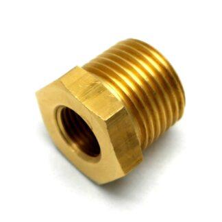 British Made 1/2 X 1/4 Brass Reducing Bush Bspt X Bsp (39)