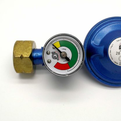 Igt Calor Gas 4.5 Gas Regulator + Pressure Gauge & 1 Mt Hose+Clips 5 Y Warranty