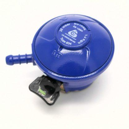 Cavagna 28Mbar Butane Gas Regulator For 21Mm Cylinders 5 Year Warranty