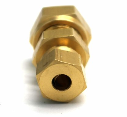 British Made 10Mm To 6Mm Reducing Brass Compression Fitting