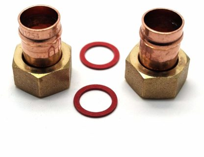 "2 X 15Mm X 1/2"" Solder Ring Copper Straight Tap Connector (52)"