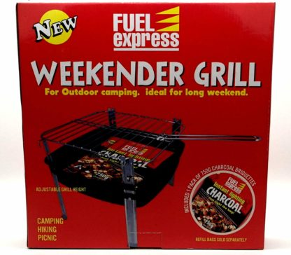 Weekender Charcoal Bbq Charcoal Grill Ideal For Camping Hiking Picnics