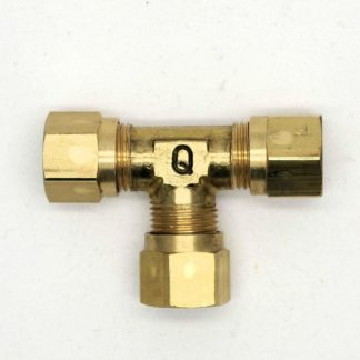 British Made 10Mm Equal T Brass Compression Fitting  (33)