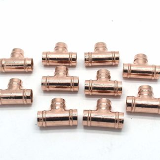 15Mm Solder Ring Copper 3 Way Equal T 10 pack (95)