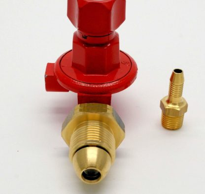 Calor Gas Brand .5 - 4 Bar Adjustable Propane Gas Regulator 8Kg/H 5 Yr Warranty