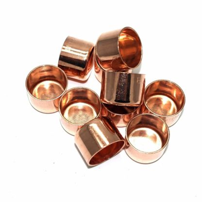 22Mm End Feed Copper Stop End 10 Pack  (74)