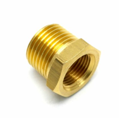 British Made 1/2 X 3/8 Brass Reducing Bush Bspt X Bsp (37)