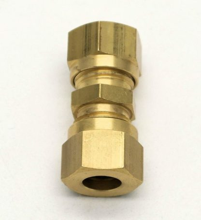 British Made 8Mm To 6Mm Reducing Brass Compression Fitting  (18)