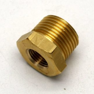 British Made 3/8 X 1/8 Brass Reducing Bush Bspt X Bsp (41)