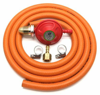 Igt 37Mbar Propane Gas Regulator Replacement Hose Kit For Uk Cadac Lp Models