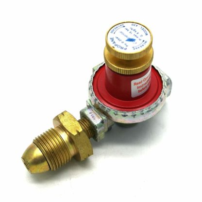 Continental 0 - 2 Bar Adjustable Propane Gas Regulator 8Kg/H With 1/4 Bsp Outlet