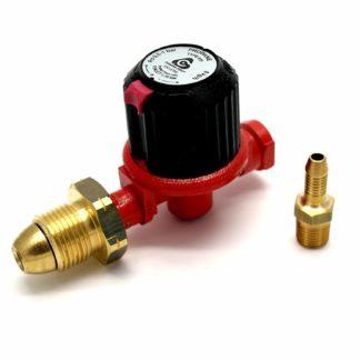Calor Gas Brand 0.5-1Bar Adjustable High Pressure Regulator 8Kg/H 5 Yer Warranty